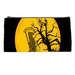 Death Haloween Background Card Pencil Cases
