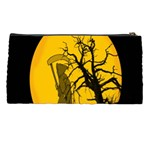 Death Haloween Background Card Pencil Cases Back