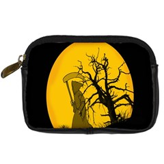 Death Haloween Background Card Digital Camera Cases