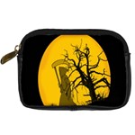 Death Haloween Background Card Digital Camera Cases Front