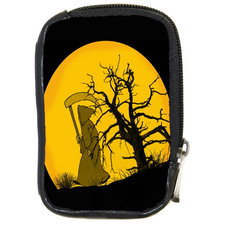 Death Haloween Background Card Compact Camera Cases
