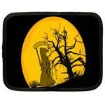 Death Haloween Background Card Netbook Case (XXL)  Front