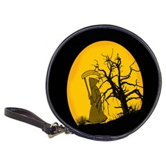 Death Haloween Background Card Classic 20-CD Wallets