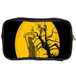 Death Haloween Background Card Toiletries Bags 2-Side Front