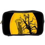 Death Haloween Background Card Toiletries Bags 2-Side Back