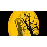 Death Haloween Background Card Magic Photo Cubes Long Side 1