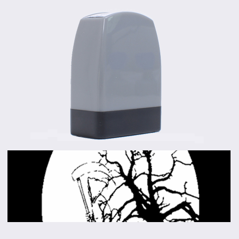 Death Haloween Background Card Name Stamps