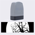 Death Haloween Background Card Name Stamps 1.4 x0.5  Stamp
