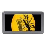 Death Haloween Background Card Memory Card Reader (Mini) Front