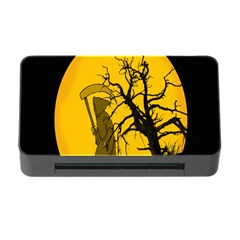 Death Haloween Background Card Memory Card Reader with CF