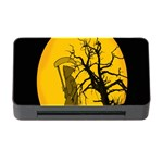 Death Haloween Background Card Memory Card Reader with CF Front