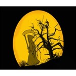 Death Haloween Background Card Deluxe Canvas 14  x 11  14  x 11  x 1.5  Stretched Canvas
