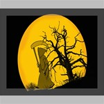 Death Haloween Background Card Deluxe Canvas 20  x 16   20  x 16  x 1.5  Stretched Canvas