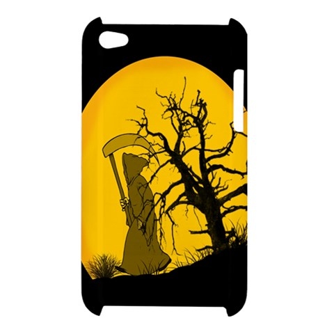 Death Haloween Background Card Apple iPod Touch 4