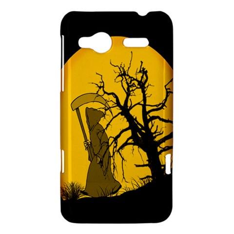 Death Haloween Background Card HTC Radar Hardshell Case