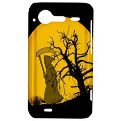 Death Haloween Background Card HTC Incredible S Hardshell Case