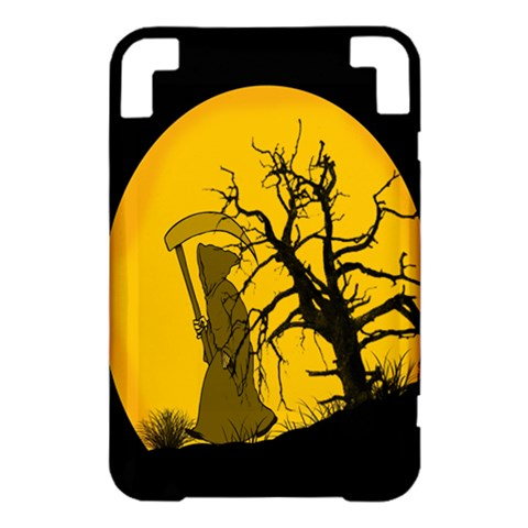 Death Haloween Background Card Kindle 3 Keyboard 3G