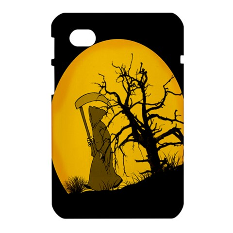 Death Haloween Background Card Samsung Galaxy Tab 7  P1000 Hardshell Case