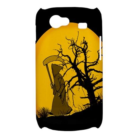 Death Haloween Background Card Samsung Galaxy Nexus S i9020 Hardshell Case