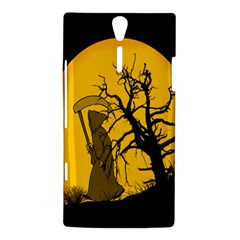 Death Haloween Background Card Sony Xperia S
