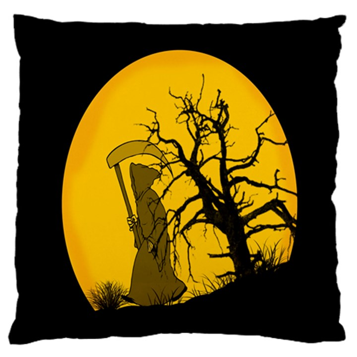Death Haloween Background Card Large Cushion Case (One Side)