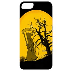 Death Haloween Background Card Apple iPhone 5 Classic Hardshell Case