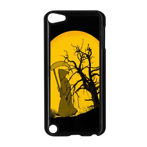 Death Haloween Background Card Apple iPod Touch 5 Case (Black)