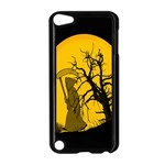 Death Haloween Background Card Apple iPod Touch 5 Case (Black) Front