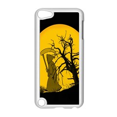 Death Haloween Background Card Apple iPod Touch 5 Case (White)