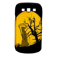 Death Haloween Background Card Samsung Galaxy S III Classic Hardshell Case (PC+Silicone)