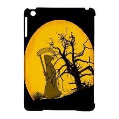 Death Haloween Background Card Apple iPad Mini Hardshell Case (Compatible with Smart Cover)