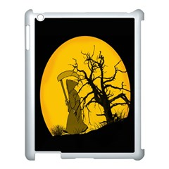 Death Haloween Background Card Apple iPad 3/4 Case (White)