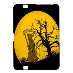 Death Haloween Background Card Kindle Fire HD 8.9