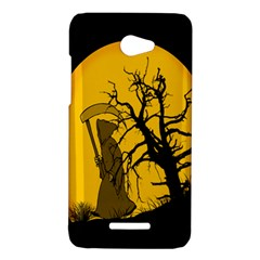 Death Haloween Background Card HTC Butterfly X920E Hardshell Case