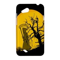 Death Haloween Background Card HTC Desire VC (T328D) Hardshell Case