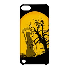 Death Haloween Background Card Apple iPod Touch 5 Hardshell Case with Stand