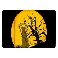 Death Haloween Background Card Samsung Galaxy Tab 10.1  P7500 Flip Case