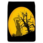 Death Haloween Background Card Flap Covers (L)  Front