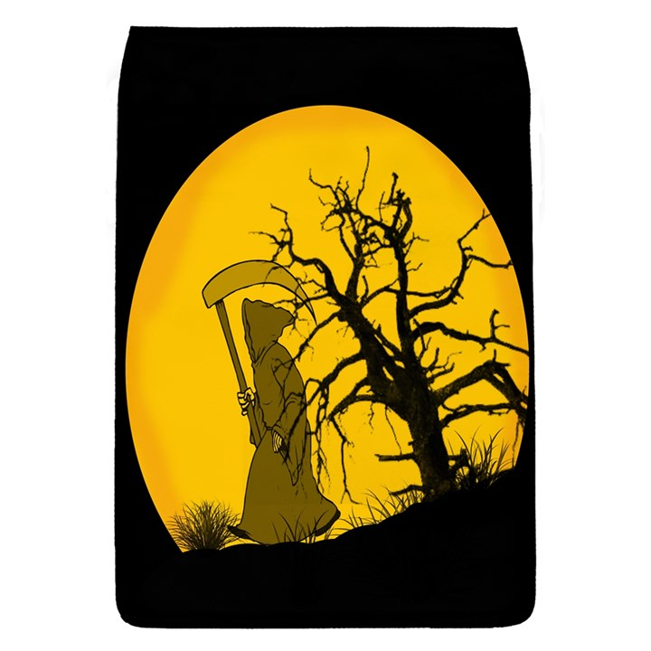 Death Haloween Background Card Flap Covers (L)