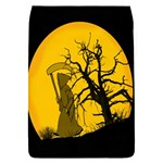 Death Haloween Background Card Flap Covers (S)  Front