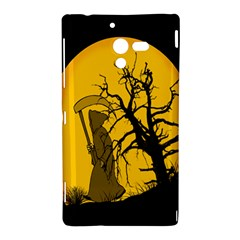 Death Haloween Background Card Sony Xperia ZL (L35H)