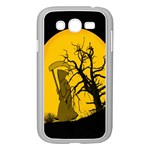 Death Haloween Background Card Samsung Galaxy Grand DUOS I9082 Case (White) Front