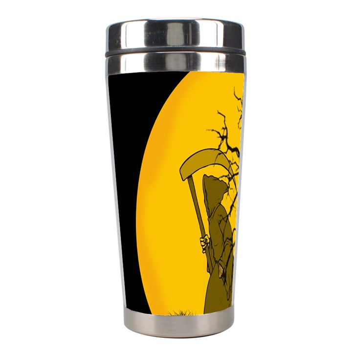 Death Haloween Background Card Stainless Steel Travel Tumblers