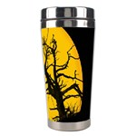 Death Haloween Background Card Stainless Steel Travel Tumblers Right