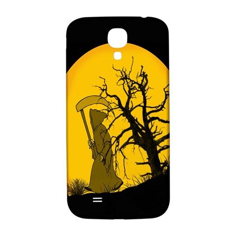 Death Haloween Background Card Samsung Galaxy S4 I9500/I9505  Hardshell Back Case
