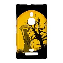 Death Haloween Background Card Nokia Lumia 925
