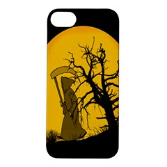 Death Haloween Background Card Apple iPhone 5S/ SE Hardshell Case