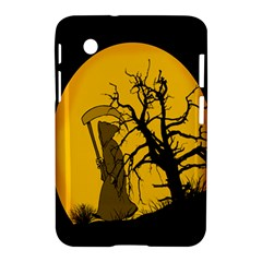 Death Haloween Background Card Samsung Galaxy Tab 2 (7 ) P3100 Hardshell Case