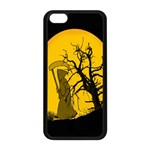 Death Haloween Background Card Apple iPhone 5C Seamless Case (Black) Front