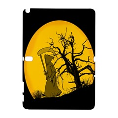 Death Haloween Background Card Samsung Galaxy Note 10.1 (P600) Hardshell Case